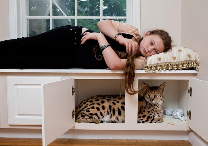 28 de super poze cu fetita care iubeste toate animalele - Poza 14