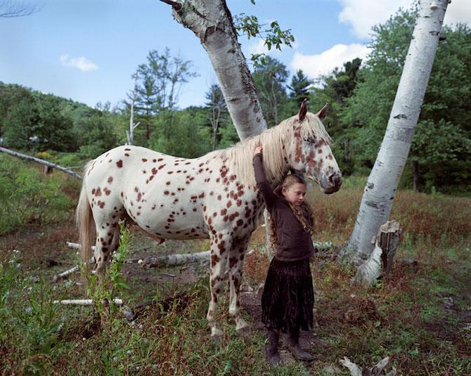 28 de super poze cu fetita care iubeste toate animalele - Poza 19