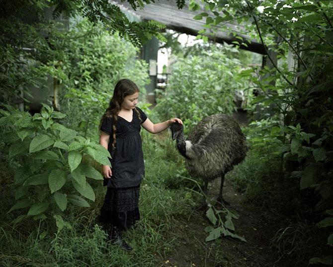 28 de super poze cu fetita care iubeste toate animalele - Poza 22