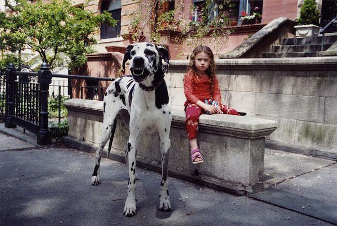 28 de super poze cu fetita care iubeste toate animalele - Poza 24