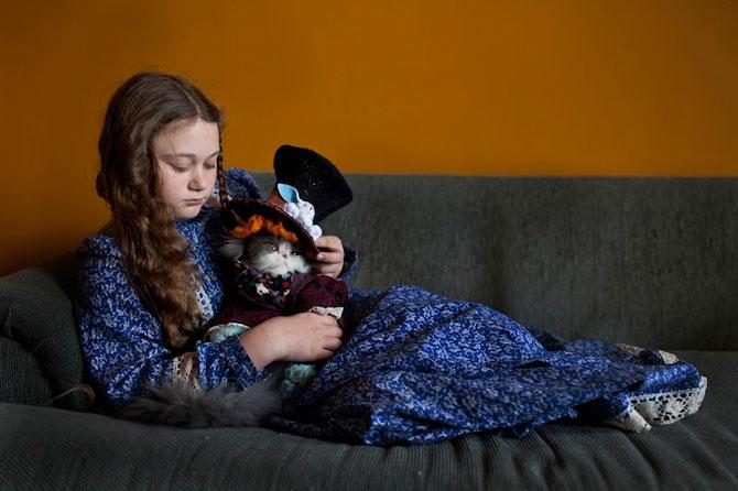 28 de super poze cu fetita care iubeste toate animalele - Poza 25