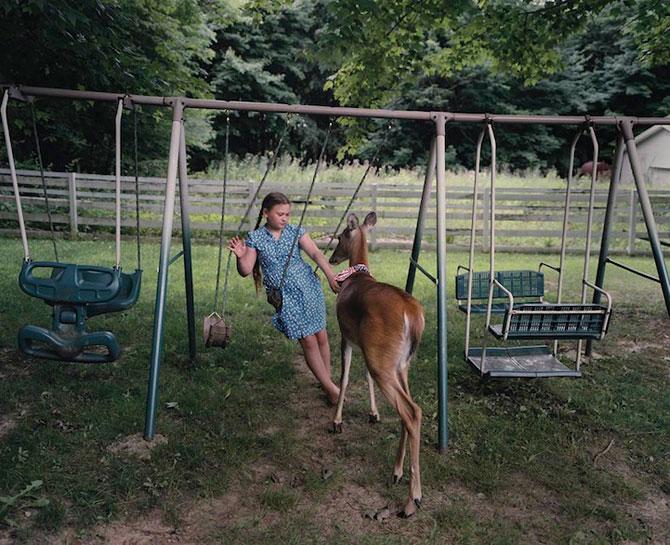 28 de super poze cu fetita care iubeste toate animalele - Poza 27