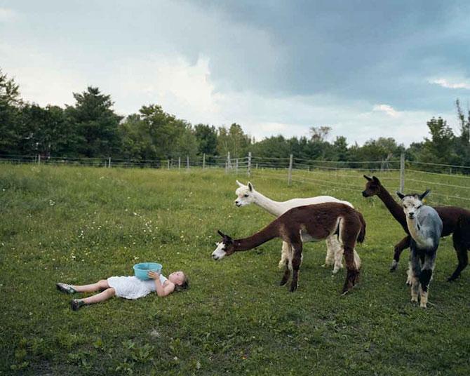 28 de super poze cu fetita care iubeste toate animalele - Poza 28