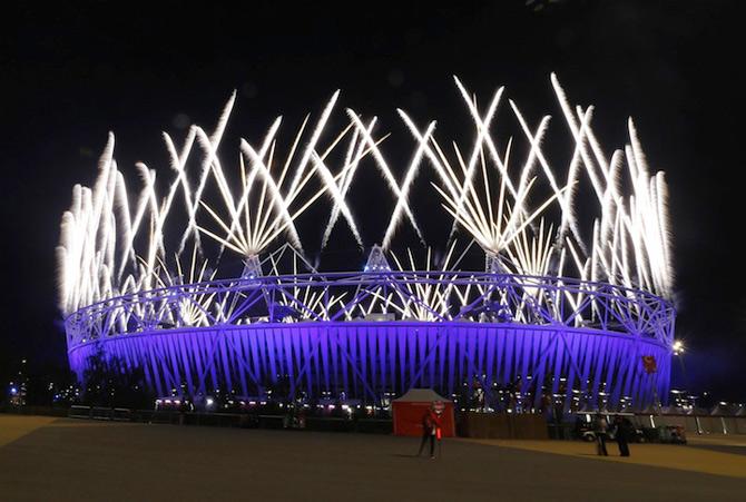 Exploziile de culoare din finalul JO 2012 - Poza 2