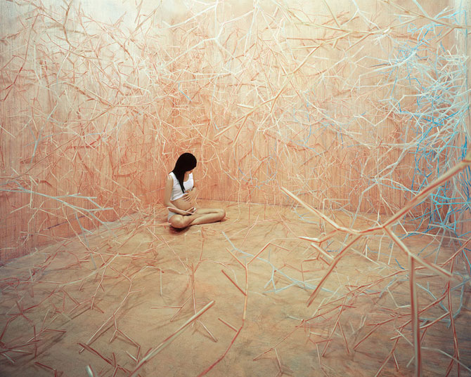 Autoportrete suprarealiste fara Photoshop, de JeeYoung Lee - Poza 3