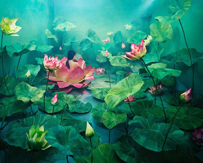 Autoportrete suprarealiste fara Photoshop, de JeeYoung Lee - Poza 5