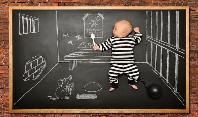 Anna Eftimie si-a desenat bebelusul cu creta - Poza 4