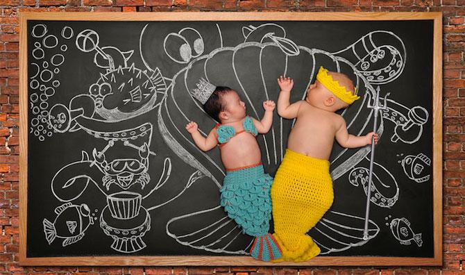 Anna Eftimie si-a desenat bebelusul cu creta - Poza 6
