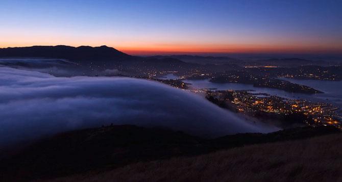 Frumusetea cetii peste San Francisco - Poza 2