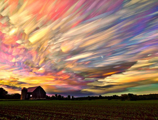 Cerul pictat de Matt Moloy - Poza 1