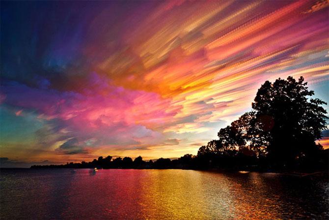 Cerul pictat de Matt Moloy - Poza 4