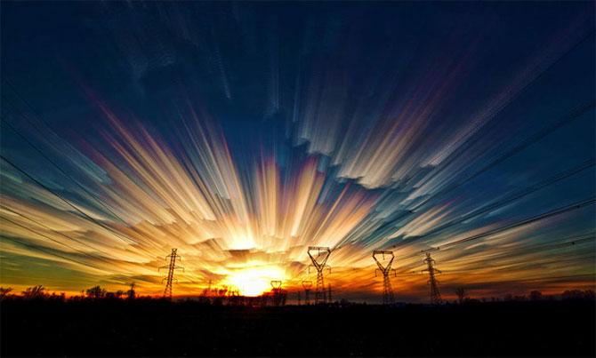 Cerul pictat de Matt Moloy - Poza 5