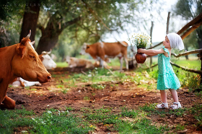 Copiii minunati fotografiati de Elena Gernovich - Poza 10