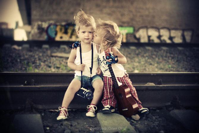 Copiii si iubirea, in 13 fotografii - Poza 7