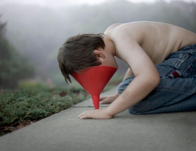 Autismul unui copil in portrete emotionante - Poza 2