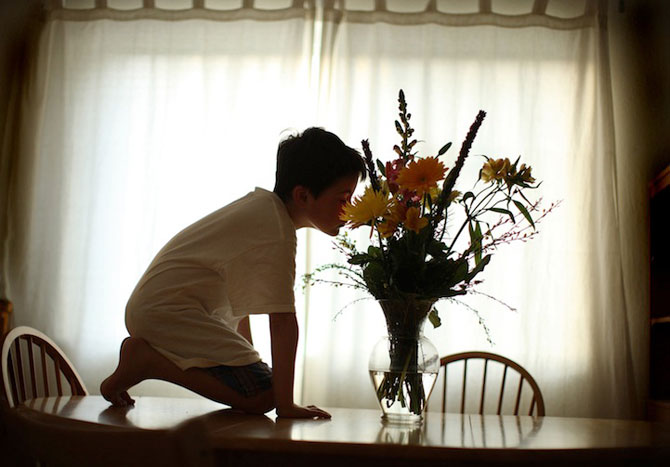 Autismul unui copil in portrete emotionante - Poza 4