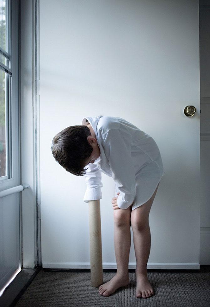 Autismul unui copil in portrete emotionante - Poza 6