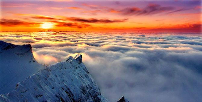 12 fotografii deasupra norilor: zboruri fascinante - Poza 1