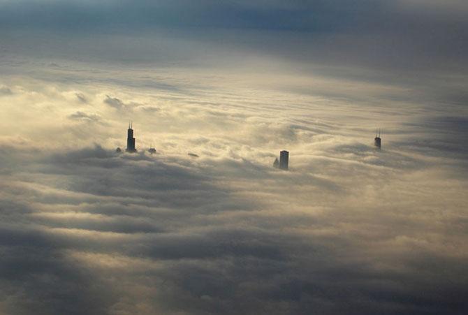 12 fotografii deasupra norilor: zboruri fascinante - Poza 3