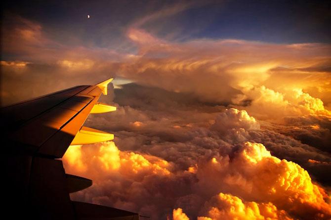 12 fotografii deasupra norilor: zboruri fascinante - Poza 9