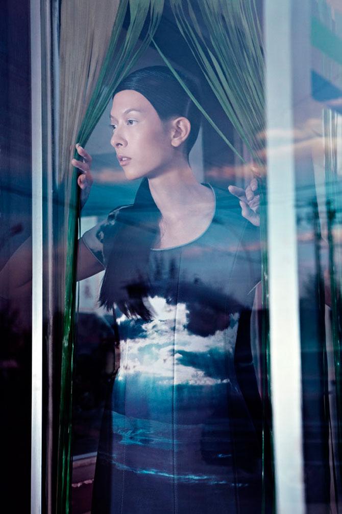 Fotografii fashion Lacul Chaka Matthieu Belin
