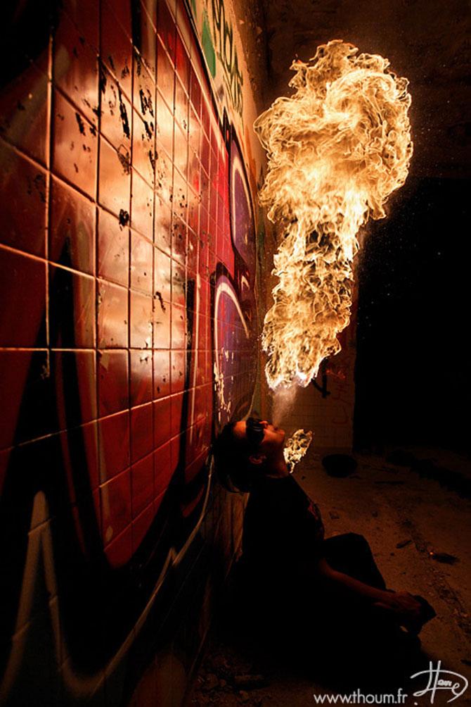 Cum se joaca Tom Lacoste cu focul - Poza 1