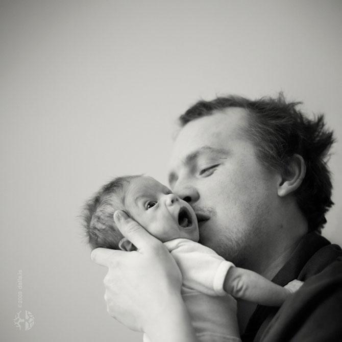 Copilaria celor doi frati islandezi, surprinsa de mama lor - Poza 2