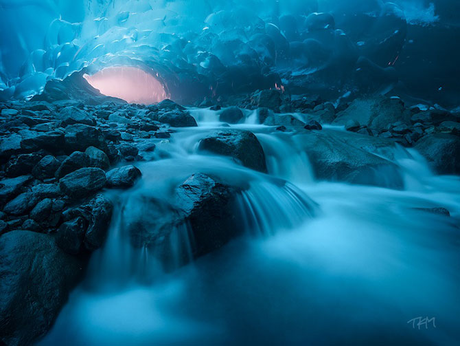 Fotografii subacvatice cu ghetarul Mendenhall - Poza 3