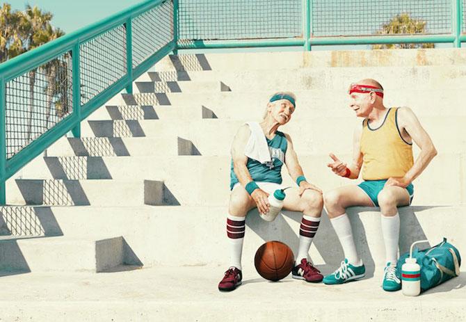 Fotografii haioase cu batrani facand sport - Poza 4