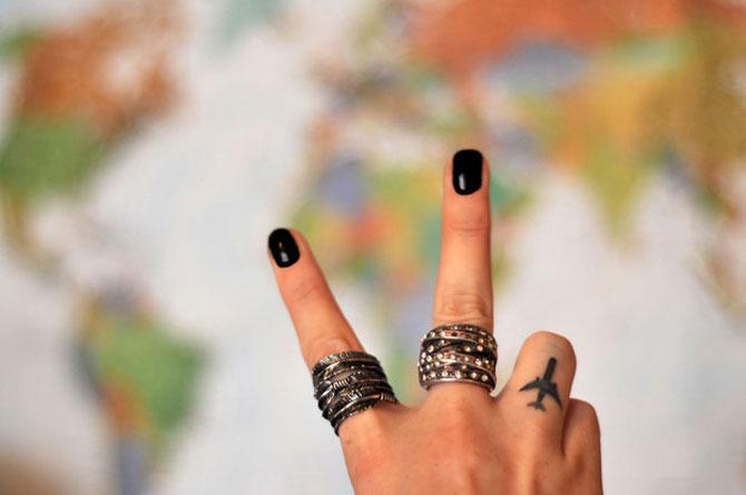 9 idei de tatuaje pentru iubitorii de calatorii - Poza 7