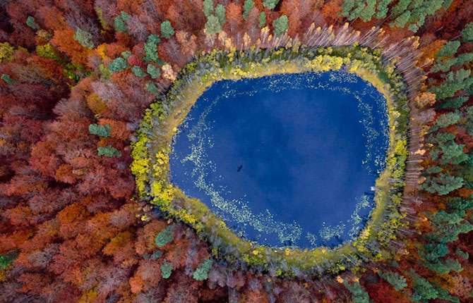 Lacurile din Polonia de-a lungul anotimpurilor - Poza 1