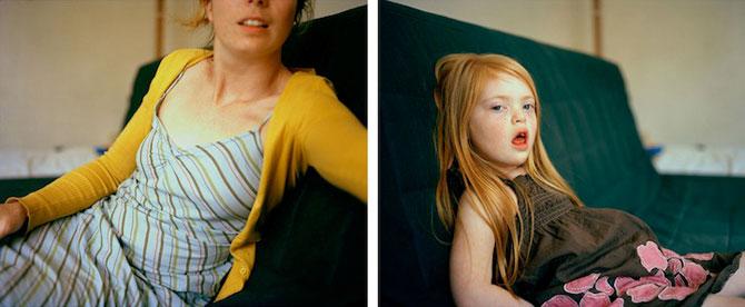 Emotionant: Mama si fiica cu sindromul Down se fotografiaza una pe alt - Poza 3
