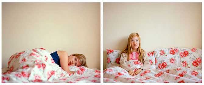 Emotionant: Mama si fiica cu sindromul Down se fotografiaza una pe alt - Poza 12