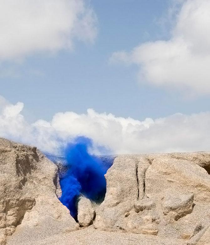 Lola Guerrera aduce norii in desert - Poza 2