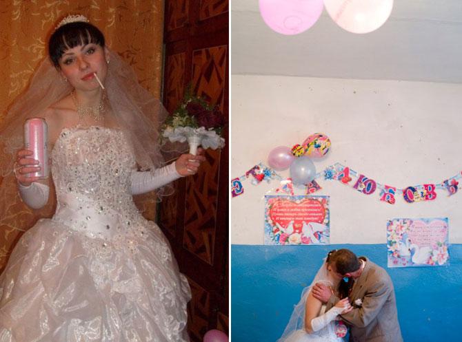 WTF?! Cele mai bizare fotografii de nunta din Rusia - Poza 9