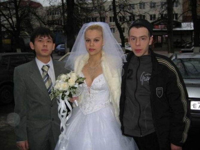 WTF?! Cele mai bizare fotografii de nunta din Rusia - Poza 12