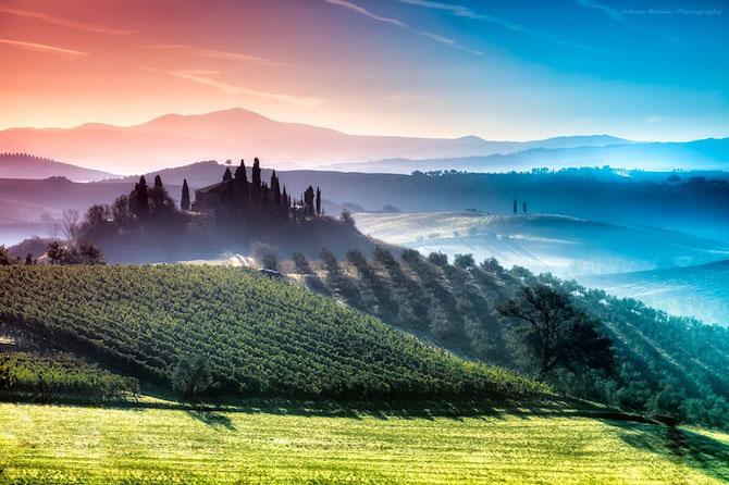 Peisaje minunate din Toscana, de Adnan Bubalo - Poza 1