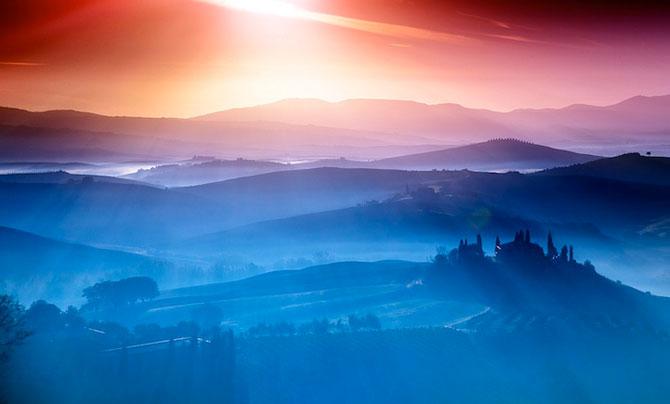 Peisaje minunate din Toscana, de Adnan Bubalo - Poza 2