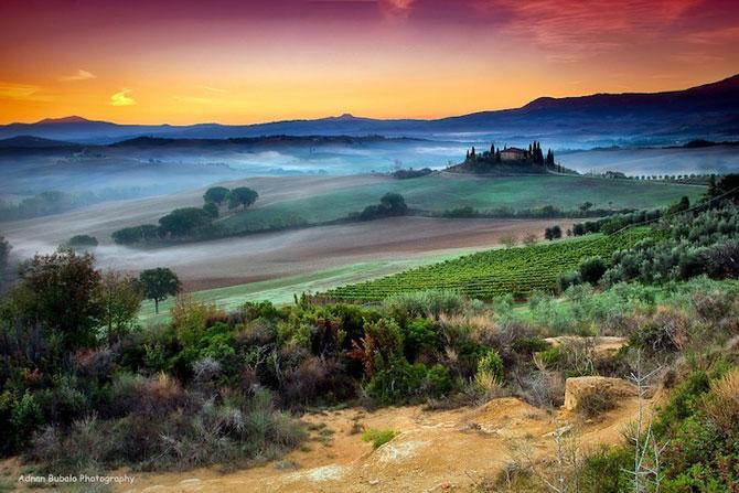 Peisaje minunate din Toscana, de Adnan Bubalo - Poza 4