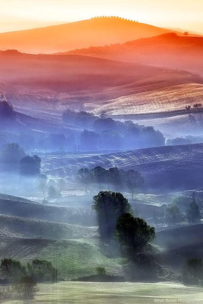 Peisaje minunate din Toscana, de Adnan Bubalo - Poza 8
