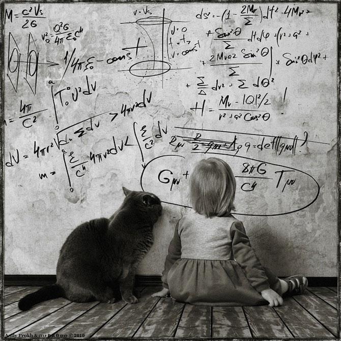Prietenia dintre o fetita si pisica ei, de Andy Prokh - Poza 5