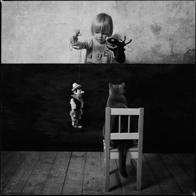 Prietenia dintre o fetita si pisica ei, de Andy Prokh - Poza 10