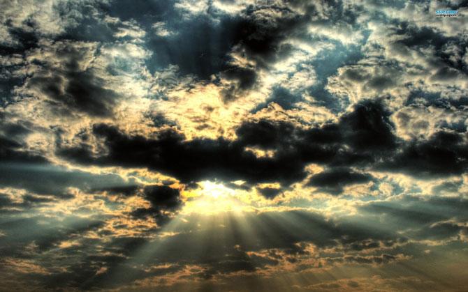 15 fotografii cu raze care strapung norii - Poza 12