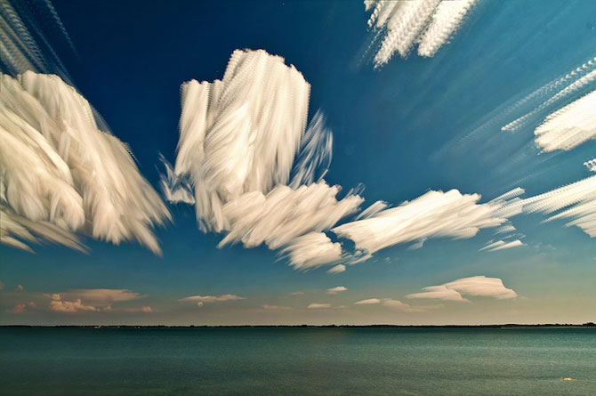 Matt Moloy picteaza pe cer
