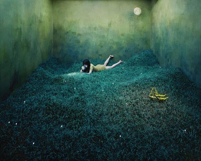 Fotografii suprarealiste fara Photoshop, de Jee Young Lee - Poza 1