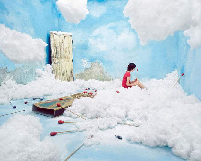 Fotografii suprarealiste fara Photoshop, de Jee Young Lee - Poza 9