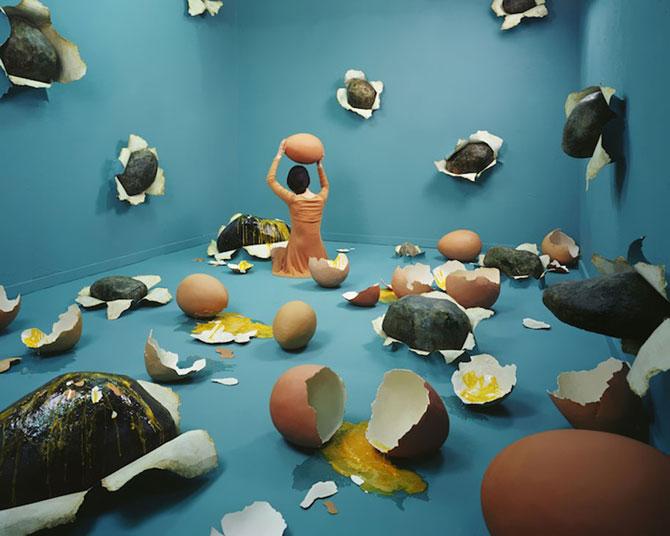 Fotografii suprarealiste fara Photoshop, de Jee Young Lee - Poza 10