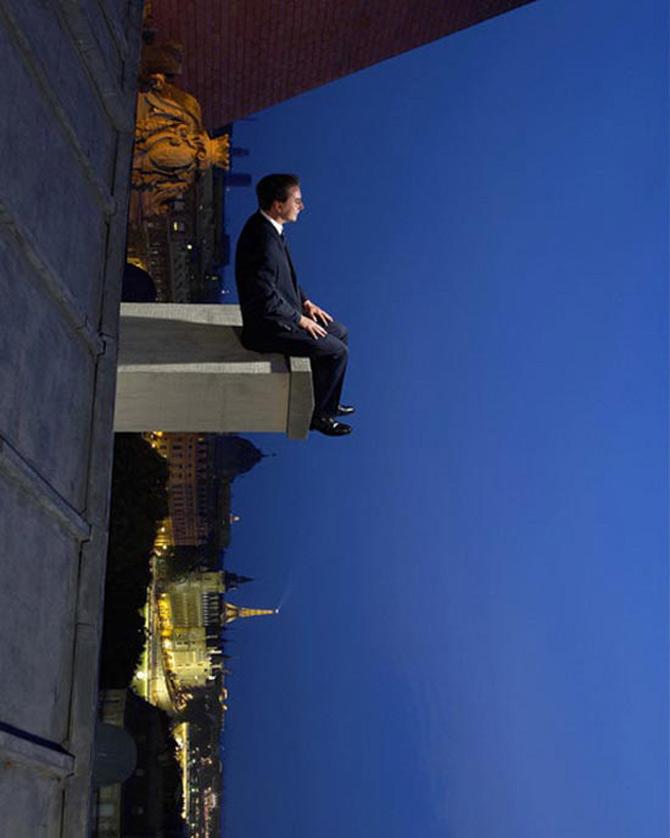 A merge mereu inainte, cu Philippe Ramette - Poza 3