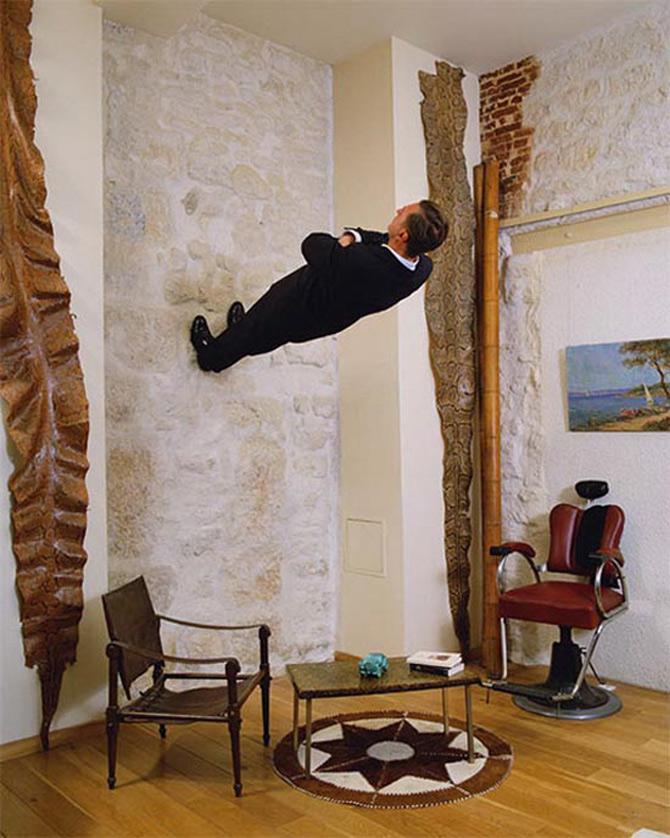 A merge mereu inainte, cu Philippe Ramette - Poza 7