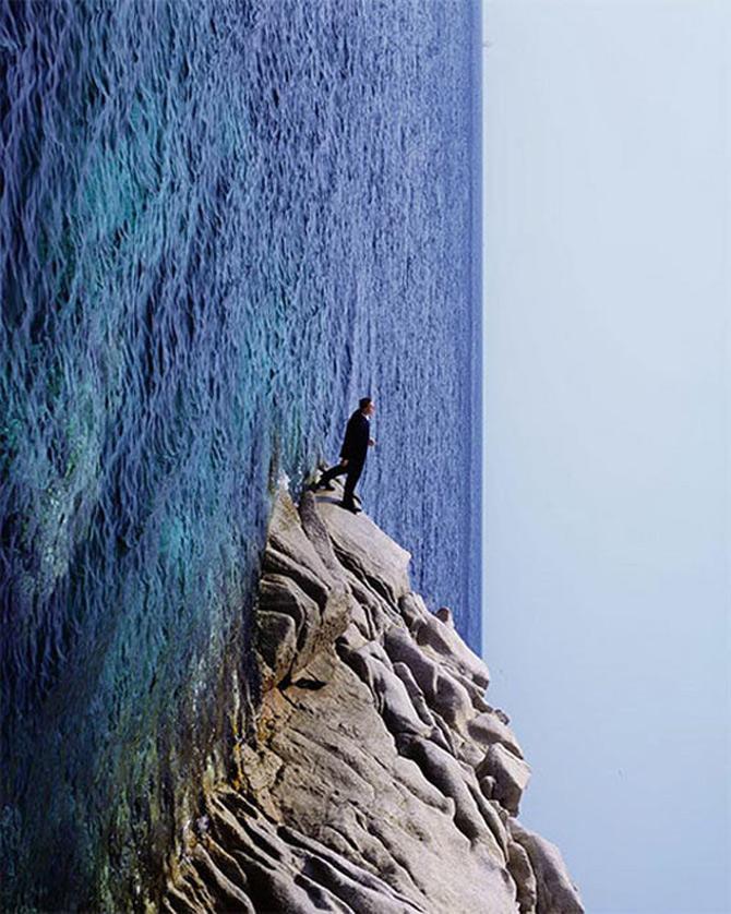 A merge mereu inainte, cu Philippe Ramette - Poza 14